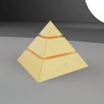 Rendu 3d pyramide fusion 360